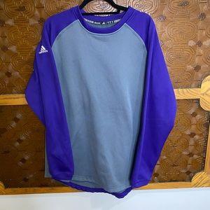 Adidas Crew Neck Sweatshirt Large